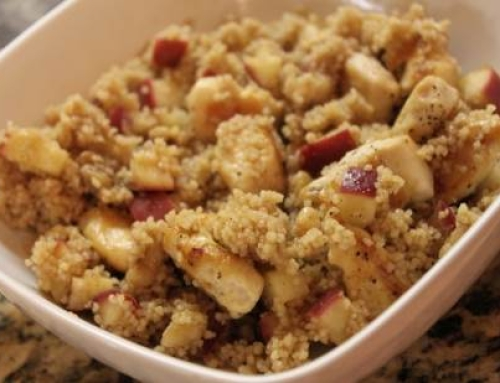 Apple and Couscous Dessert – 6-12 Month Baby Food