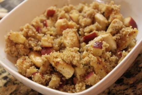 Apple Couscous Dessert - 6-12 Month Baby Food Recipe at CleanBabyFood