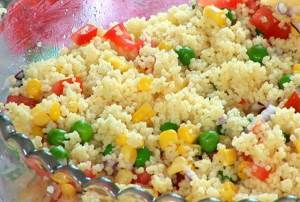 Vegetable Cous Cous With Chicken Stock - 12-18 Months Baby Food Recipe at CleanBabyFood