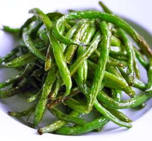 Oven-Roasted Green Beans - 12-18 Month Baby Food Recipe at CleanBabyFood