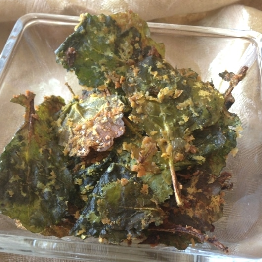 Delicious baby kale chips 12 18 month baby food recipe forumfinder Images