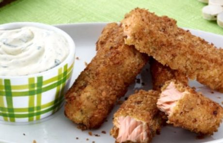 Finger Food Fish Sticks - 12-18 Month Baby Food Recipe at CleanBabyFood