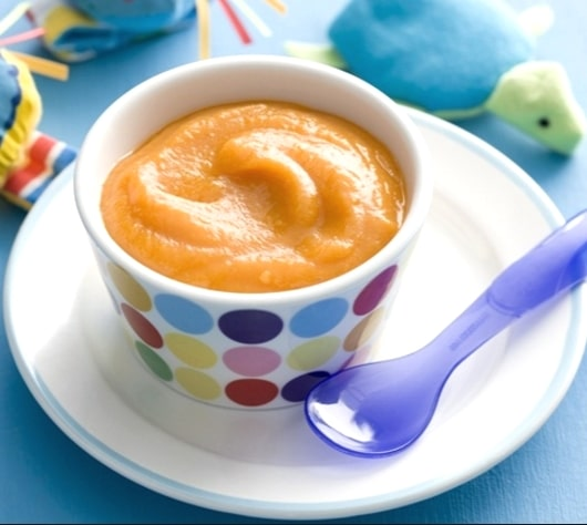 Pumpkin Pear Puree Baby Food 4 6 Month Baby Food Recipe