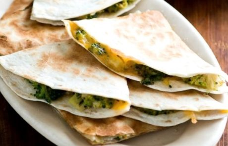 Veggie Quesadilla For Baby - 6-12 Months Baby Food Recipe at Cleanbabyfood