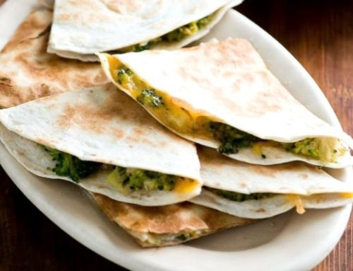 Veggie Quesadilla For Baby – 6-12 Months Baby Food