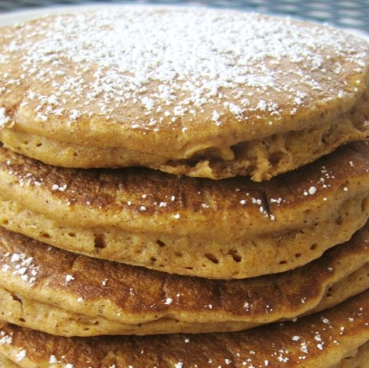 Whole Wheat Sweet Potato Pancakes - CleanBabyFood Recipe