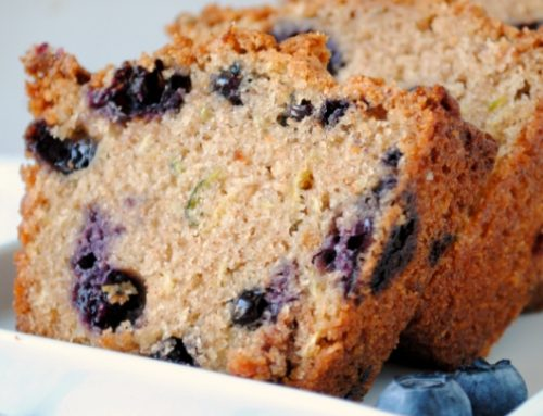 Toddler Zucchini Blueberry Bread – 12-18 Month Baby Food