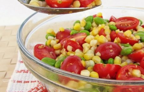 Toddler Edamame, Corn, Tomato Mix - 12-18 Month Baby Food Cleanbabyfood.com